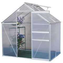 Terra Aluminium Greenhouse - 4 x 6ft