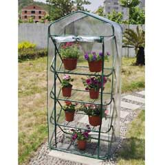 Terra Premium 4 Tier Pop-up Greenhouse